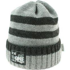 Czapka zimowa CZ 036G. Szare czapki dla dzieci Proman, na zimę. Za 37.42 zł.