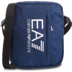 Saszetka EA7 EMPORIO ARMANI - 275665 CC733 02836  Dark Blue. Niebieskie saszetki męskie EA7 Emporio Armani, z materiału, młodzieżowe. Za 249.00 zł.