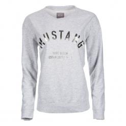 Mustang Bluza Damska M Szary. Szare bluzy damskie Mustang, z bawełny. Za 196.00 zł.