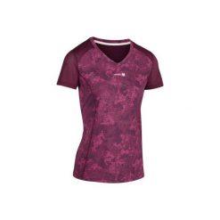 T-Shirt tenisowy Soft 500 damski. Fioletowe t-shirty damskie ARTENGO, z meshu. W wyprzedaży za 29.99 zł.