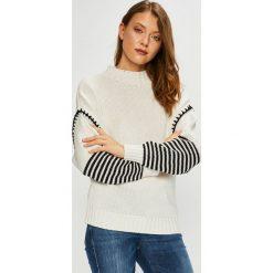 Trendyol - Sweter. Szare swetry damskie Trendyol, z bawełny. Za 99.90 zł.