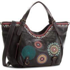 Torebka DESIGUAL - 18WAXP37 2000. Czarne torebki do ręki damskie Desigual, ze skóry ekologicznej. W wyprzedaży za 249.00 zł.