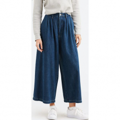 Dżinsy culotte - Wide-Leg - w kolorze niebieskim. Niebieskie jeansy damskie Levi's. W wyprzedaży za 217.95 zł.