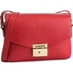 Torebka LOVE MOSCHINO - JC4119PP17LP0500  Rosso. Czerwone listonoszki damskie Love Moschino, ze skóry ekologicznej. Za 719.00 zł.