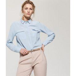 Gładka koszula - Niebieski. Koszule damskie House. Za 59.99 zł.