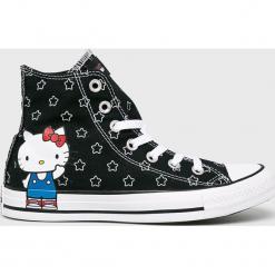 Converse - Trampki Hello Kitty. Szare trampki i tenisówki damskie Converse, z motywem z bajki, z gumy. Za 319.90 zł.