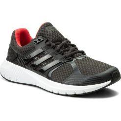 Buty adidas - Duramo 8 CP8750 Carbon/Carbon/Reacor. Czarne obuwie sportowe damskie Adidas, z materiału. W wyprzedaży za 219.00 zł.