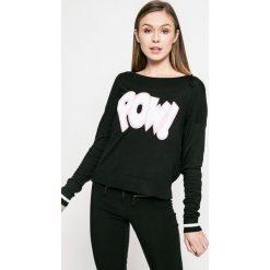 Only - Sweter. Szare swetry damskie Only, z dzianiny, z okrągłym kołnierzem. W wyprzedaży za 59.90 zł.