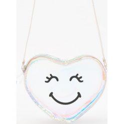Przezroczysta torebka z holograficznym połyskiem - Niebieski. Torby i plecaki dziecięce marki Tuloko. W wyprzedaży za 19.99 zł.
