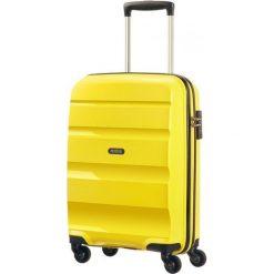 Walizka spinner BonAir Strict S - żółty (85A-06-001). Walizki męskie American Tourister. Za 325.86 zł.