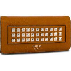 Duży Portfel Damski GUESS - SWVC71 06590 COG. Brązowe portfele damskie Guess, ze skóry ekologicznej. Za 279.00 zł.