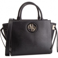 Torebka GUESS - HWVG71 86060 BLA. Czarne torebki do ręki damskie Guess, z aplikacjami, ze skóry ekologicznej. Za 649.00 zł.