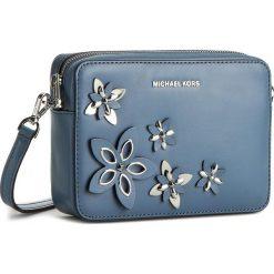Torebka MICHAEL MICHAEL KORS - Flowers 32H6SFAM2L  Denim. Niebieskie listonoszki damskie MICHAEL Michael Kors, z denimu. W wyprzedaży za 759.00 zł.
