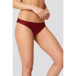 Hannalicious x NA-KD Dół bikini z niskim stanem - Red. Czerwone bikini damskie Hannalicious x NA-KD. W wyprzedaży za 24.29 zł.