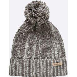Columbia - Czapka. Szare czapki i kapelusze damskie Columbia, z dzianiny. Za 119.90 zł.