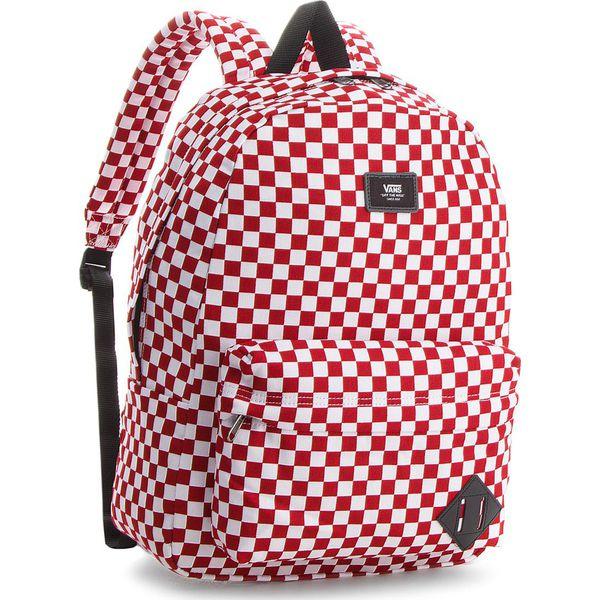 0cd5884749ca5 Plecak VANS - Old Skool II Ba VN000ONIRLM Back Red/White - Czerwone ...