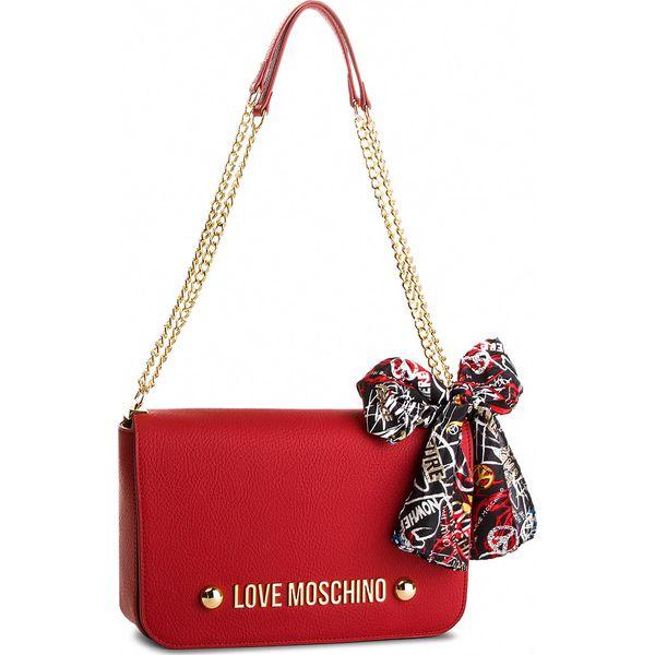 Torebka LOVE MOSCHINO - JC4121PP16LV0500 Rosso - Czerwone torebki do ... 1d4bb173757