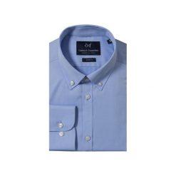 KOSZULA BLUE BUTTON DOWN. Niebieskie koszule męskie Guns&tuxedos, button down. Za 129.99 zł.