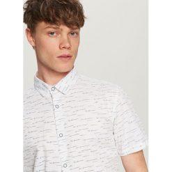 Koszula z krótkim rękawem - Biały. Koszule dla chłopców marki bonprix. W wyprzedaży za 39.99 zł.