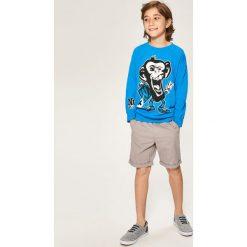 Bluza z małpą - Turkusowy. Bluzy dla chłopców Reserved. W wyprzedaży za 24.99 zł.
