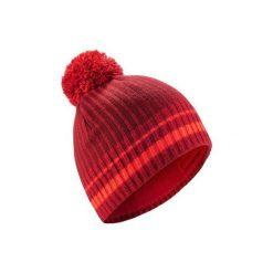 Czapka narciarska RIB. Czerwone czapki i kapelusze damskie WED'ZE. Za 29.99 zł.
