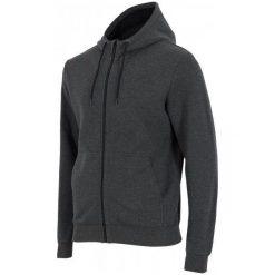 4F Męska Bluza H4Z17 blm002 Ciemny Szary Melanż M. Szare bluzy męskie 4f, melanż, z bawełny. W wyprzedaży za 89.00 zł.