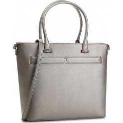 Torebka TRUSSARDI JEANS - Paprica 75B00558 E285. Szare torebki do ręki damskie TRUSSARDI JEANS, z jeansu. W wyprzedaży za 419.00 zł.