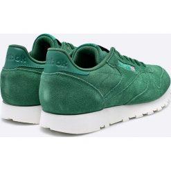 Reebok Classic - Buty CL Leather Mcc. Zielone buty sportowe męskie Reebok Classic, z gumy. W wyprzedaży za 249.90 zł.