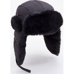 Czapka uszatka - Czarny. Czarne czapki i kapelusze męskie Reserved. Za 69.99 zł.