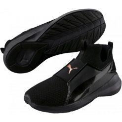 Puma Damskie Buty Sportowe Rebe Mid Wns Ep Black Bl 38,5. Czarne obuwie sportowe damskie Puma. W wyprzedaży za 219.00 zł.