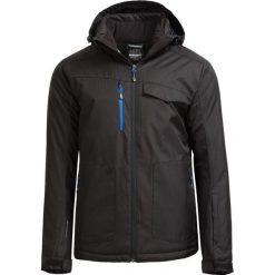 Kurtka narciarska męska KUMN604 - CZARNY - Outhorn. Czarne kurtki męskie Outhorn, na jesień, z materiału. W wyprzedaży za 209.99 zł.