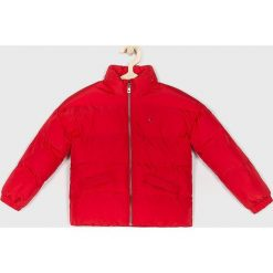 Tommy Hilfiger - Kurtka dziecięca 110-176 cm. Czerwone kurtki i płaszcze dla dziewczynek Tommy Hilfiger, z poliesteru. Za 539.90 zł.