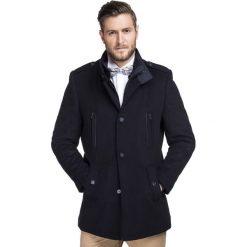 Płaszcz BONIFACIO PSGS000025. Brązowe płaszcze męskie Giacomo Conti, na jesień, z kaszmiru. Za 999.00 zł.
