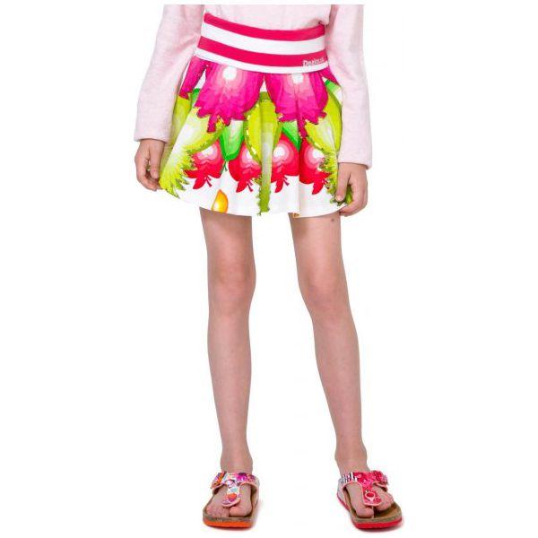 Spódniczki dla dziewczynek: Desigual Spódnica Dziewczęca Tanganament 140 Wielokolorowy