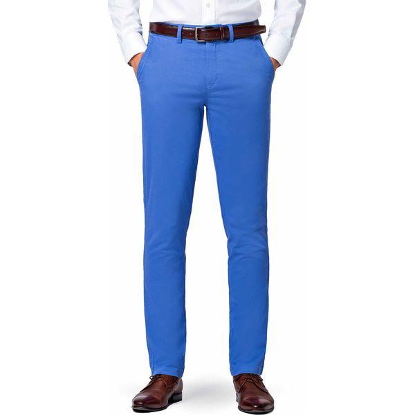 6ee2afac Spodnie Niebieskie Chino Mono II