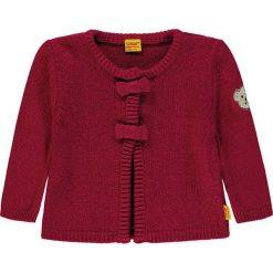 Kardigan w kolorze czerwonym. Swetry dla dziewczynek marki bonprix. W wyprzedaży za 147.95 zł.