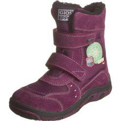 Botki w kolorze fioletowym. Botki dziewczęce Zimowe obuwie dla dzieci. W wyprzedaży za 172.95 zł.