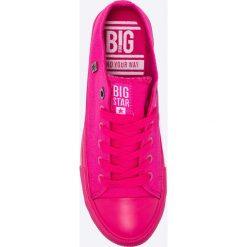 Big Star - Trampki. Różowe trampki i tenisówki damskie Big Star, z materiału. Za 89.90 zł.