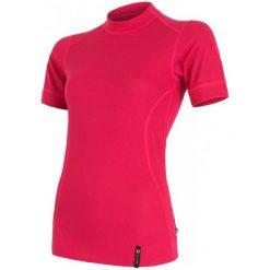 Sensor Koszulka Double Face T-Shirt Magenta M. Czerwone koszulki sportowe damskie Sensor, z krótkim rękawem. Za 95.00 zł.