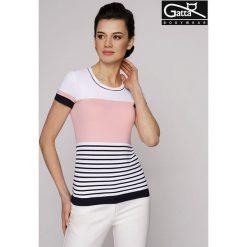 GATTA Koszulka damska Adria 8s granatowo-biało-różowa r. S. T-shirty damskie Gatta. Za 63.98 zł.