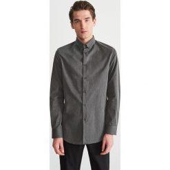 Jeansowa koszula slim fit - Szary. Koszule męskie marki Giacomo Conti. W wyprzedaży za 79.99 zł.