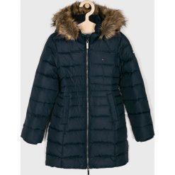 Tommy Hilfiger - Kurtka dziecięca 128-176 cm. Czarne kurtki i płaszcze dla dziewczynek Tommy Hilfiger, z elastanu. Za 1,049.00 zł.