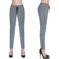 Bas-Bleu Spodnie damskie fitness Bas Black Grace szare r. M (BB222). Spodnie dresowe damskie Bas-Bleu. Za 112.43 zł.
