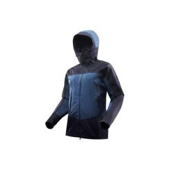 Kurtka trekkingowa Trek 500 męska. Niebieskie kurtki męskie FORCLAZ. Za 499.99 zł.