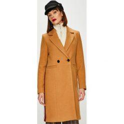 Vero Moda - Płaszcz Rambla. Brązowe płaszcze damskie Vero Moda, z elastanu, klasyczne. W wyprzedaży za 199.90 zł.