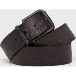 Guess Jeans - Pasek skórzany. Czarne paski damskie Guess Jeans, z aplikacjami, z jeansu. Za 229.90 zł.