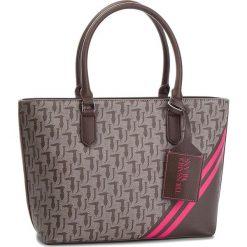 Torebka TRUSSARDI JEANS - Vaniglia Shopping 75B00552 B261. Czarne torebki do ręki damskie TRUSSARDI JEANS, z jeansu. W wyprzedaży za 419.00 zł.