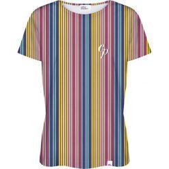 Colour Pleasure Koszulka damska CP-030 264 niebiesko-żółta r. M/L. T-shirty damskie Colour Pleasure. Za 70.35 zł.