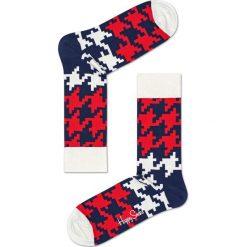 Happy Socks - Skarpety Dogtooth. Brązowe skarpety męskie Happy Socks. W wyprzedaży za 27.90 zł.