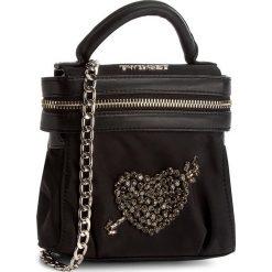 Torebka TWINSET - Mini Cecile AA7PFA Nero 00006. Czarne torebki do ręki damskie Twinset, z materiału. W wyprzedaży za 389.00 zł.